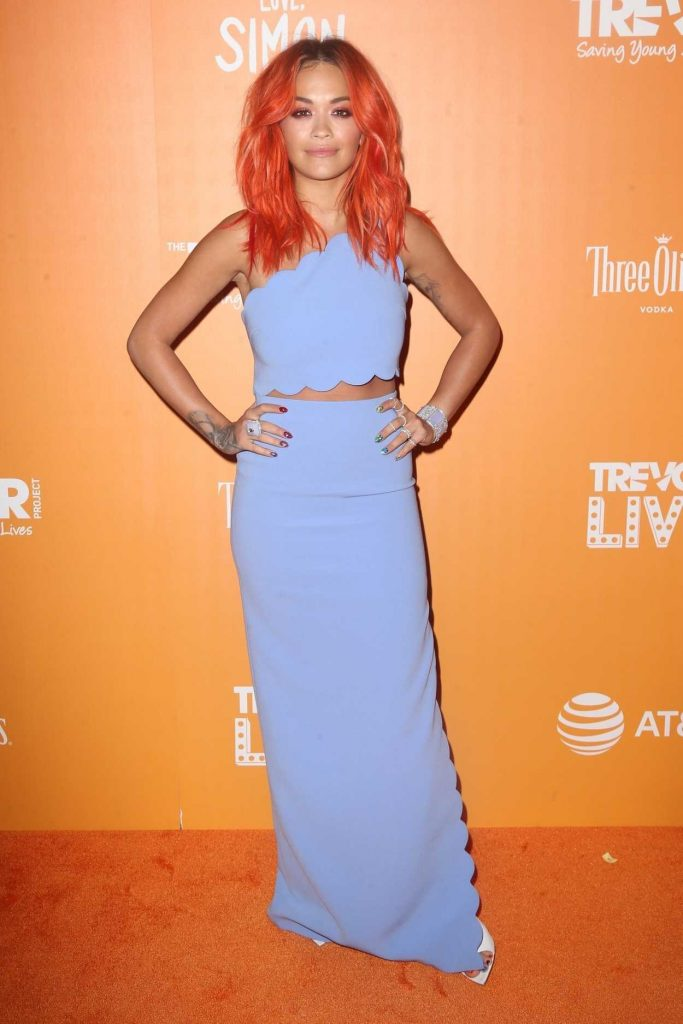 Rita Ora Attends The Trevor Project's TrevorLIVE NY Gala in New York City 06/11/2018-3