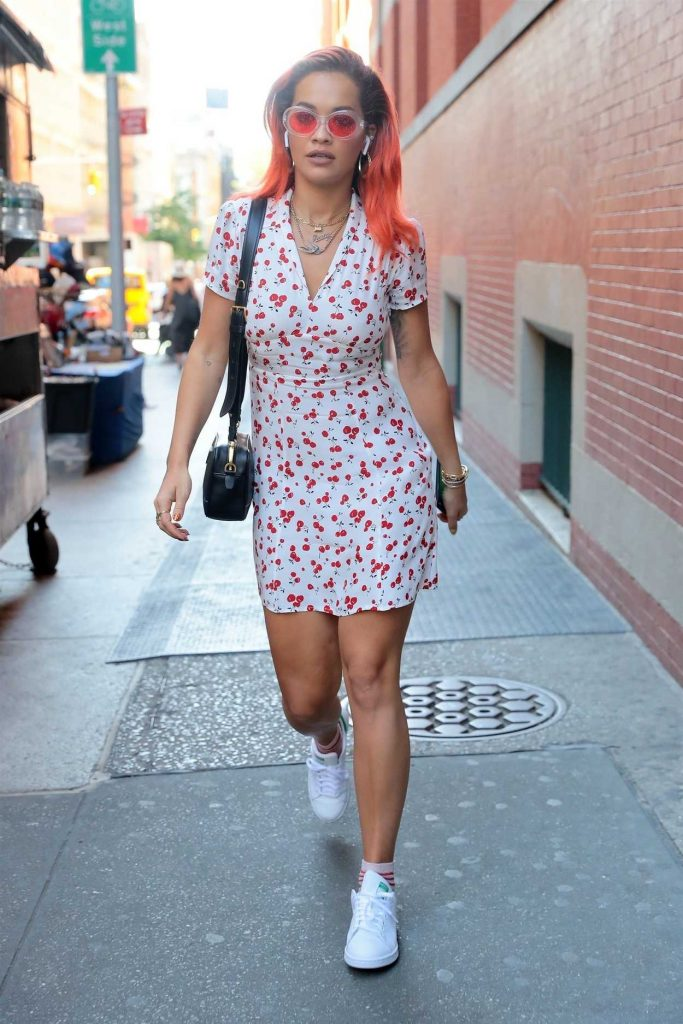 Rita Ora Leaves Her Soho Hotel in New York City 06/14/2018-1
