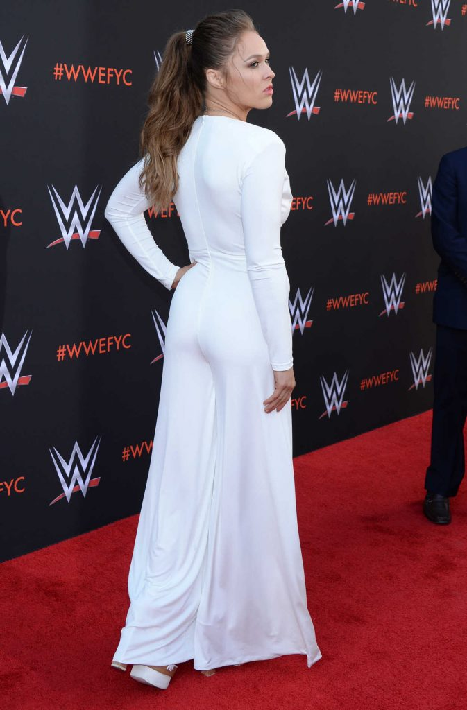 Ronda Rousey At The WWE First Ever Emmy FYC Event In North