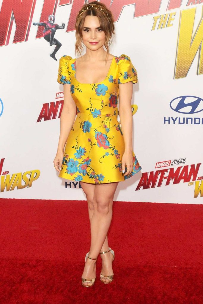 Rosanna Pansino at Marvel's Ant-Man and the Wasp Premiere in Los Angeles 06/25/2018-1