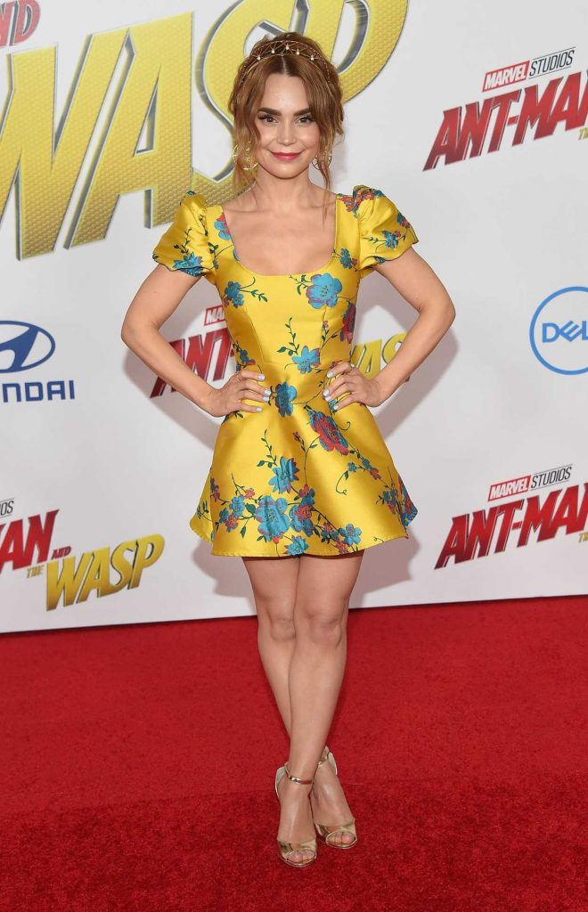 Rosanna Pansino at Marvel's Ant-Man and the Wasp Premiere in Los Angeles 06/25/2018-2