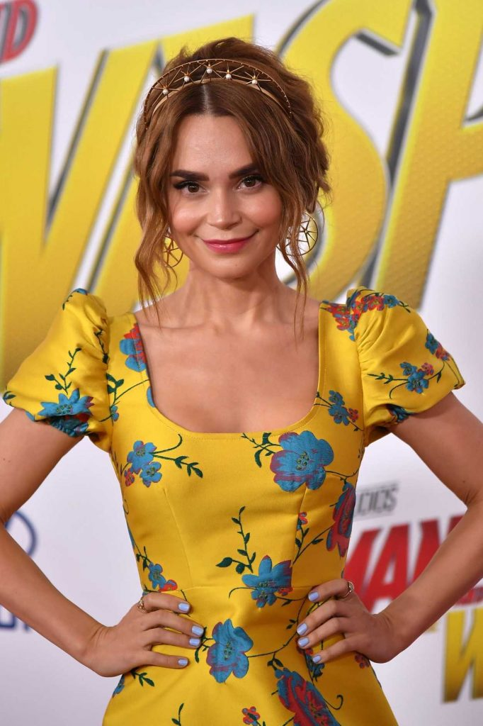 Rosanna Pansino at Marvel's Ant-Man and the Wasp Premiere in Los Angeles 06/25/2018-3