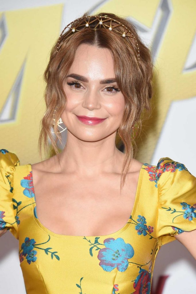 Rosanna Pansino at Marvel's Ant-Man and the Wasp Premiere in Los Angeles 06/25/2018-4