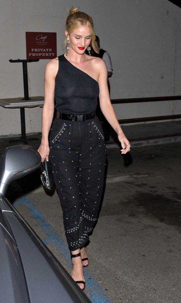 Rosie Huntington-Whiteley Night Out in West Hollywood 06/08/2018-1