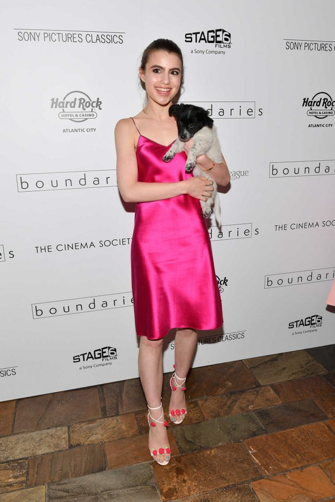 Sami Gayle at the Boundaries Screening in New York City 06/11/2018-1
