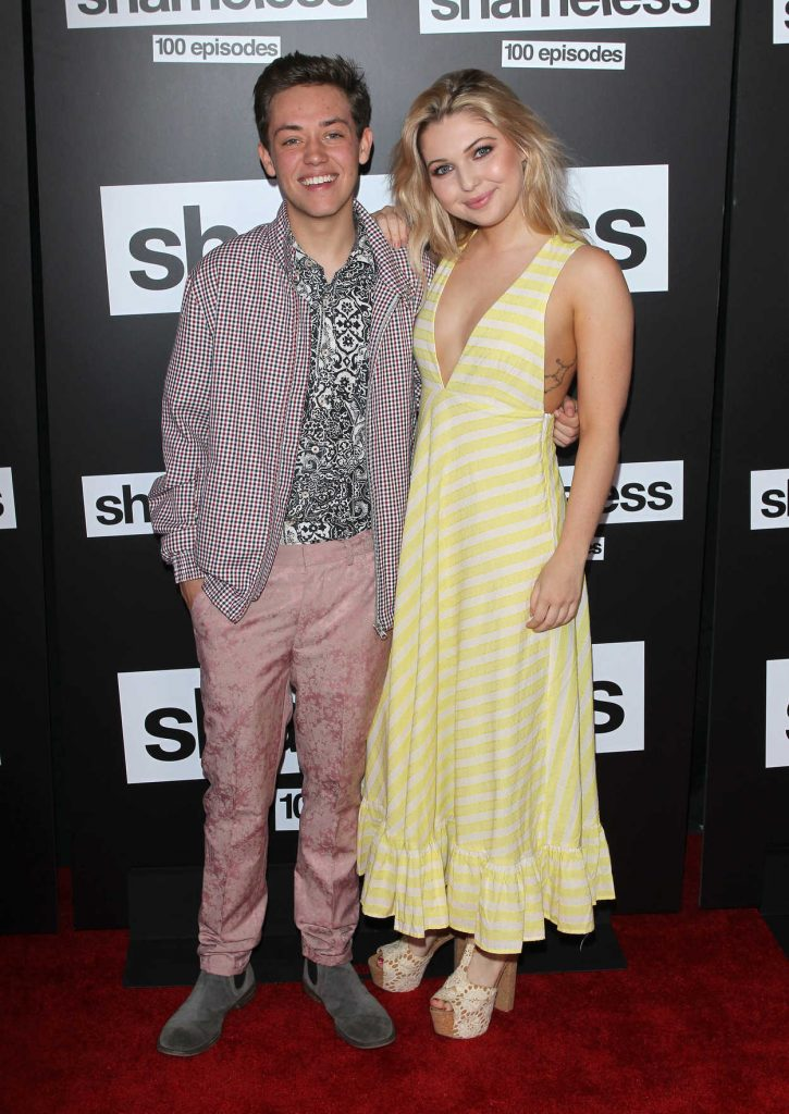 Sammi Hanratty at the Shameless 100th Episode Celebration in Los Angeles 06/09/2018-4