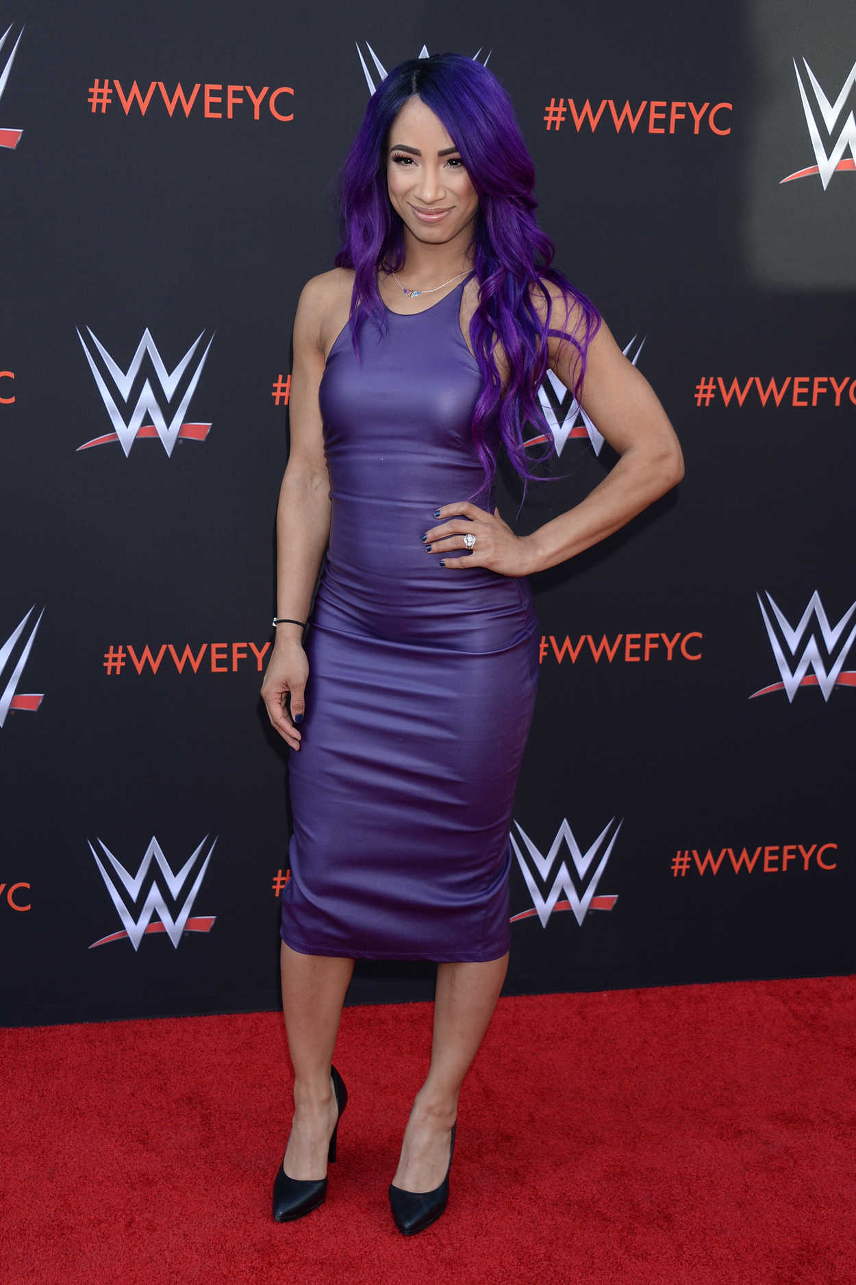 Sasha Banks At The WWE First Ever Emmy FYC Event In North