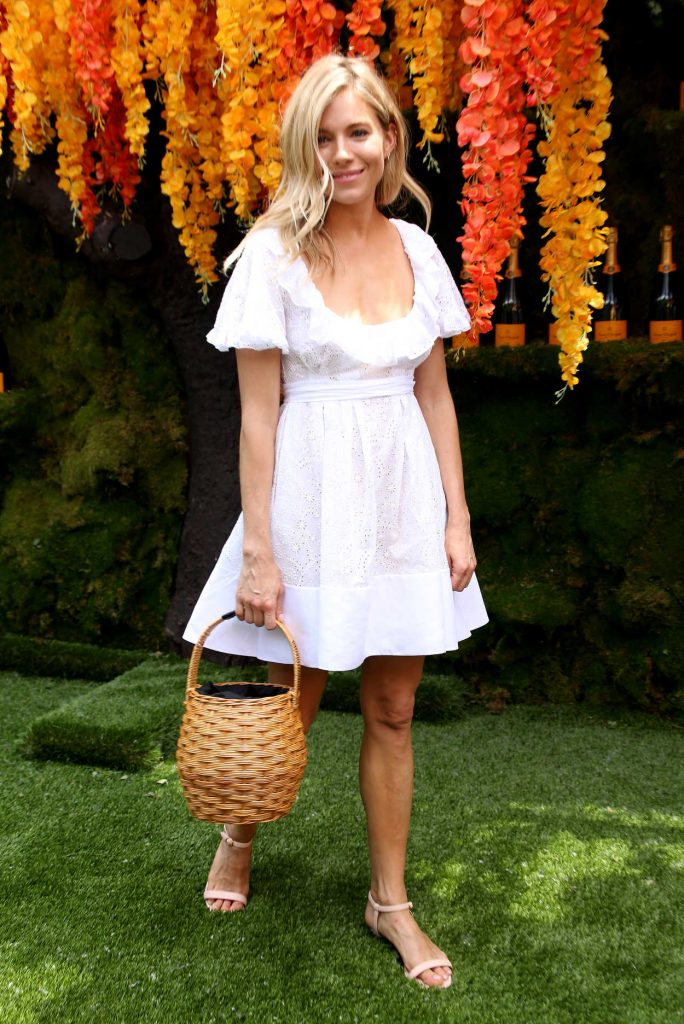 Sienna Miller at the 11th Annual Veuve Clicquot Polo Classic in New Jersey 06/02/2018-1