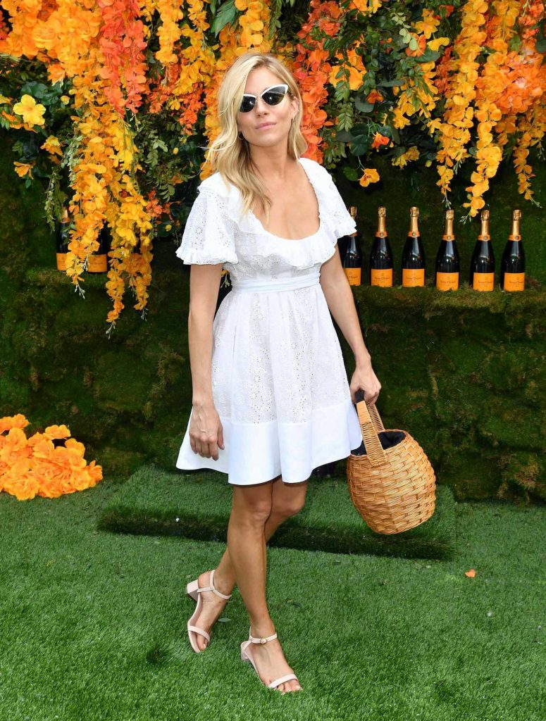 Sienna Miller at the 11th Annual Veuve Clicquot Polo Classic in New Jersey 06/02/2018-3