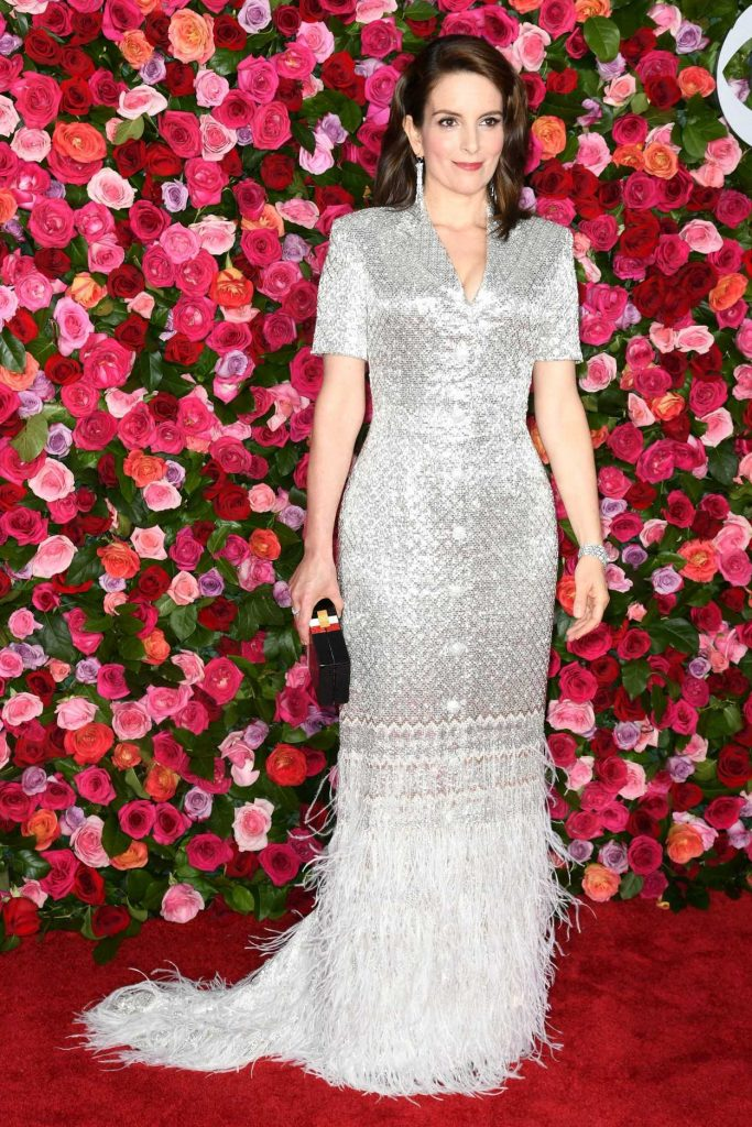 Tina Fey at the 72nd Annual Tony Awards in New York City 06/10/2018-1