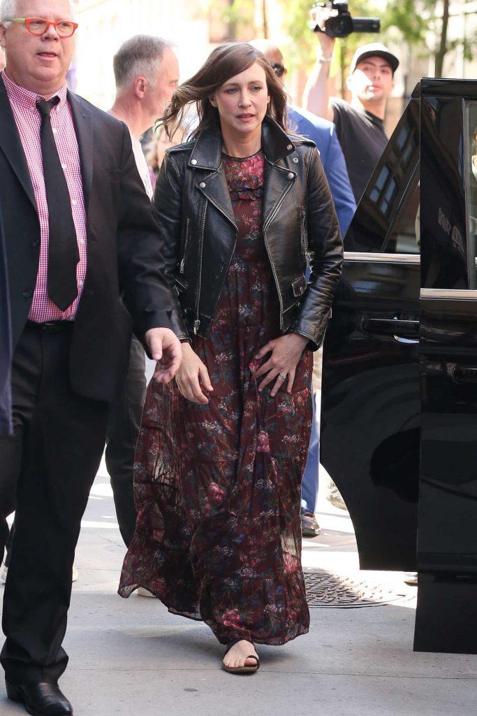 Vera Farmiga Arrives at the AOL Build Series in New York City 06/12/2018-1