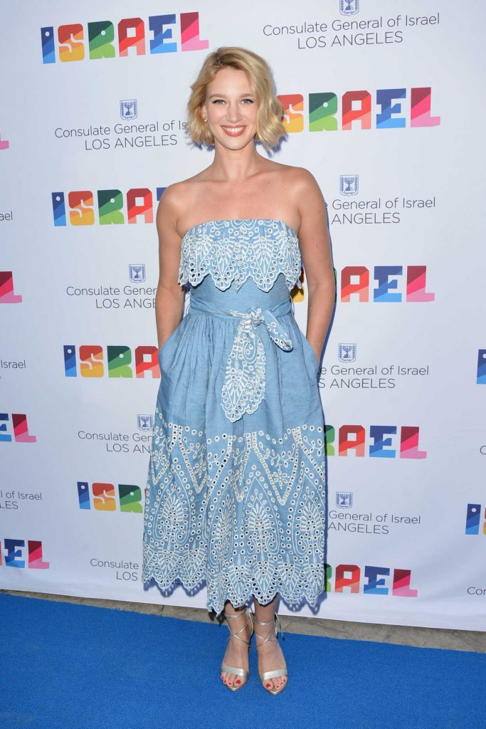 Yael Grobglas at the 70th Anniversary of Israel Celebration in Universal City 06/10/2018-1