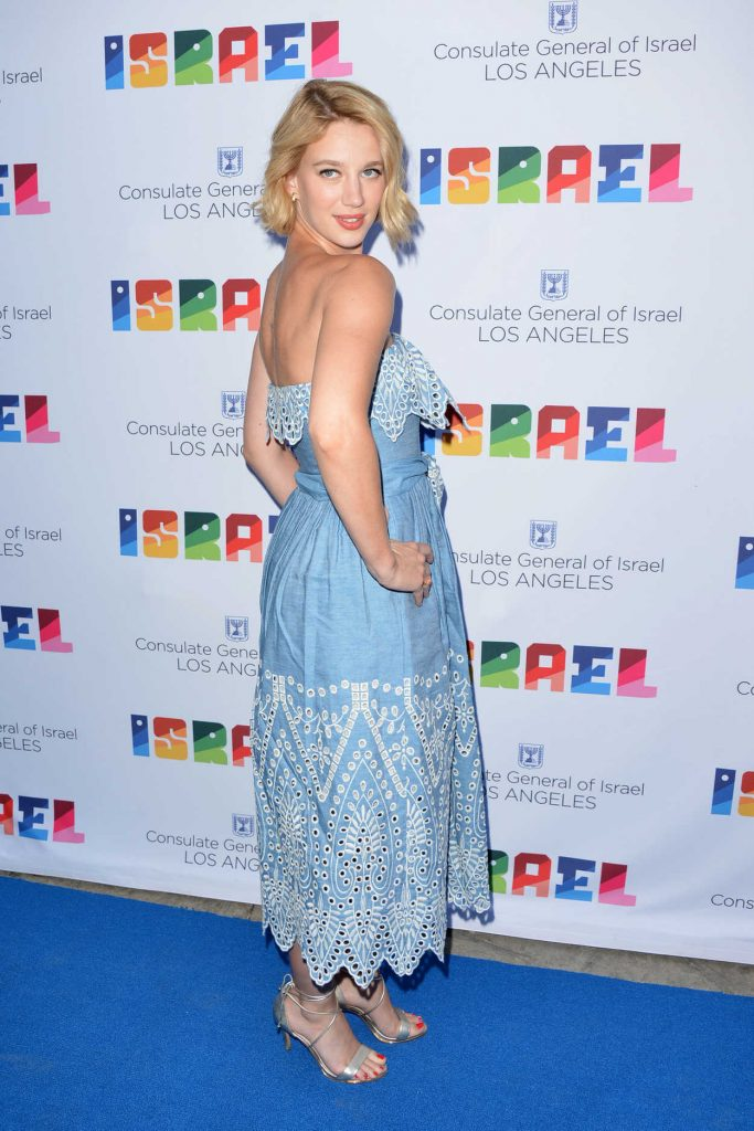 Yael Grobglas at the 70th Anniversary of Israel Celebration in Universal City 06/10/2018-2