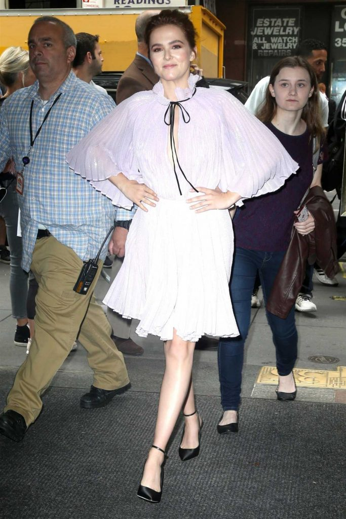 Zoey Deutch Arrives on the Today Show in New York 06/13/2018-1