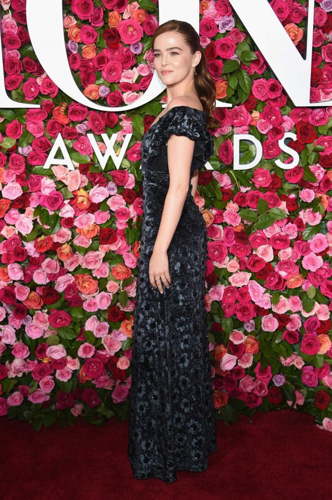 Zoey Deutch at the 72nd Annual Tony Awards in New York City 06/10/2018-4