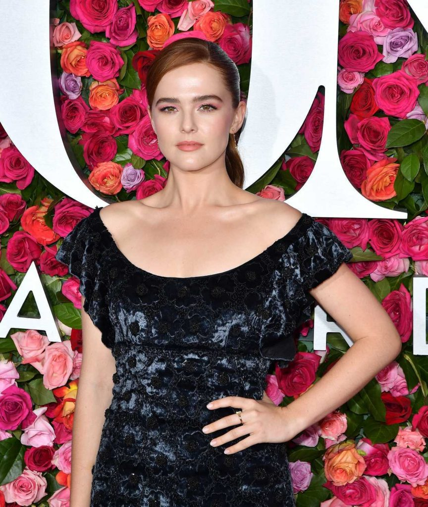 Zoey Deutch at the 72nd Annual Tony Awards in New York City 06/10/2018-5