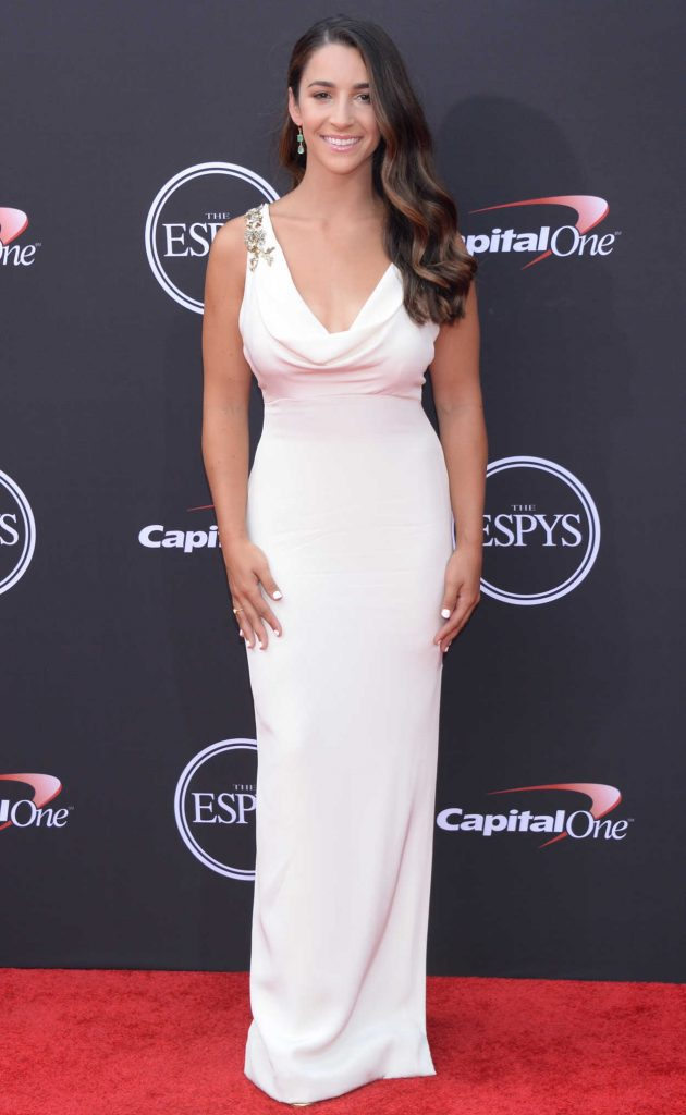 Aly Raisman at 2018 ESPY Awards in Los Angeles 07/18/2018-1