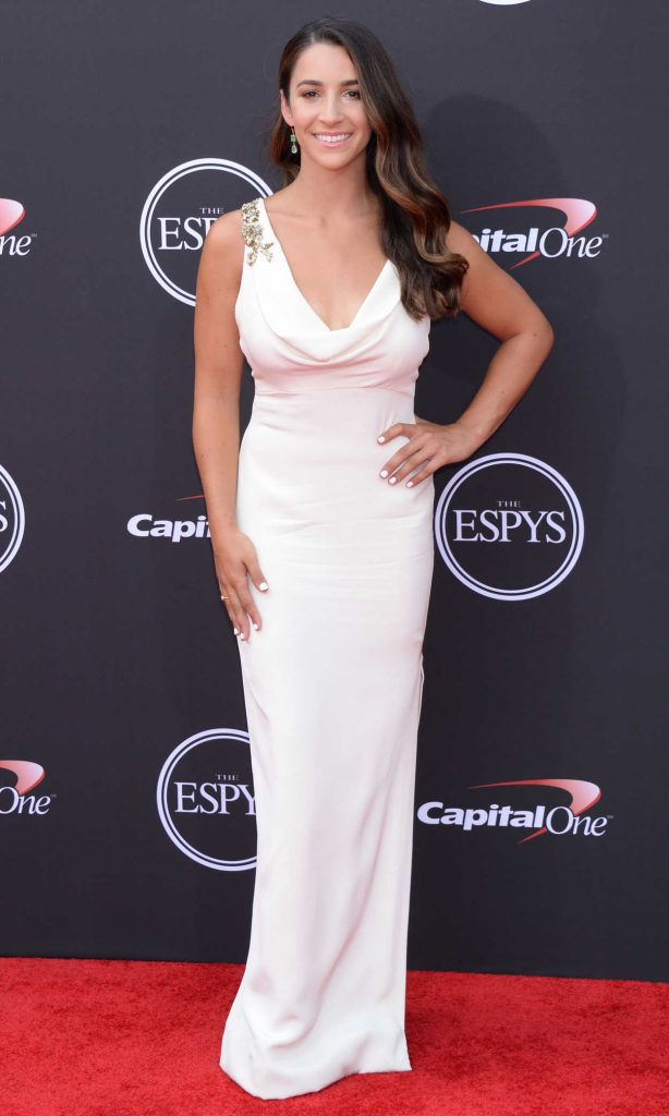 Aly Raisman at 2018 ESPY Awards in Los Angeles 07/18/2018-2