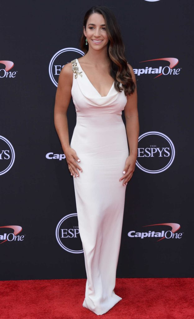 Aly Raisman at 2018 ESPY Awards in Los Angeles 07/18/2018-3