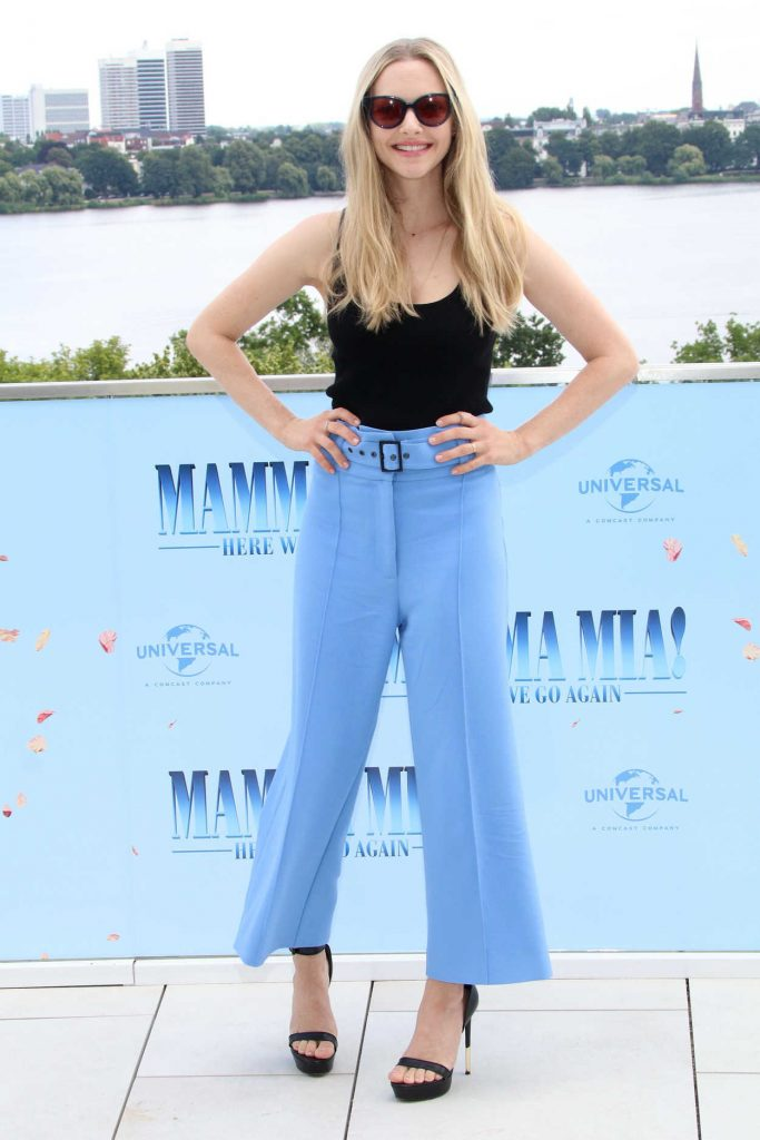 Amanda Seyfried at the Mamma Mia! Here We Go Again Photocall in Hamburg 07/12/2018-1