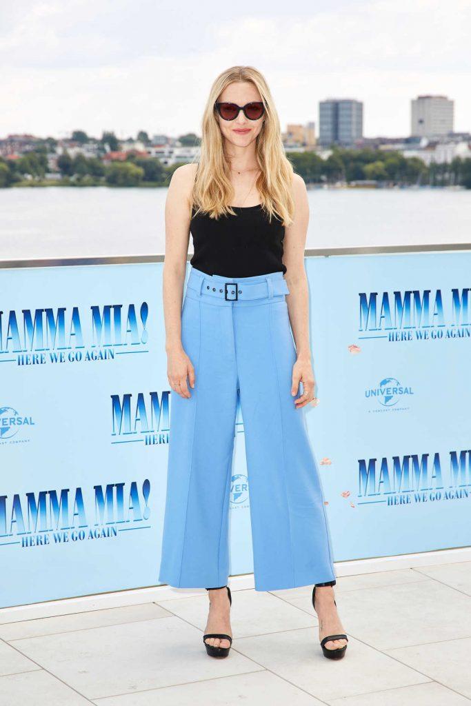 Amanda Seyfried at the Mamma Mia! Here We Go Again Photocall in Hamburg 07/12/2018-2