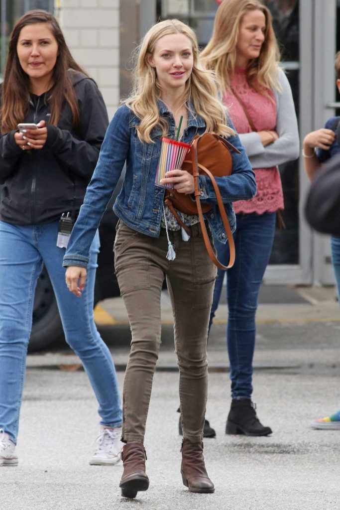 Amanda Seyfried on the Set of The Art of Racing in Port Coquitlam 06/30/2018-2