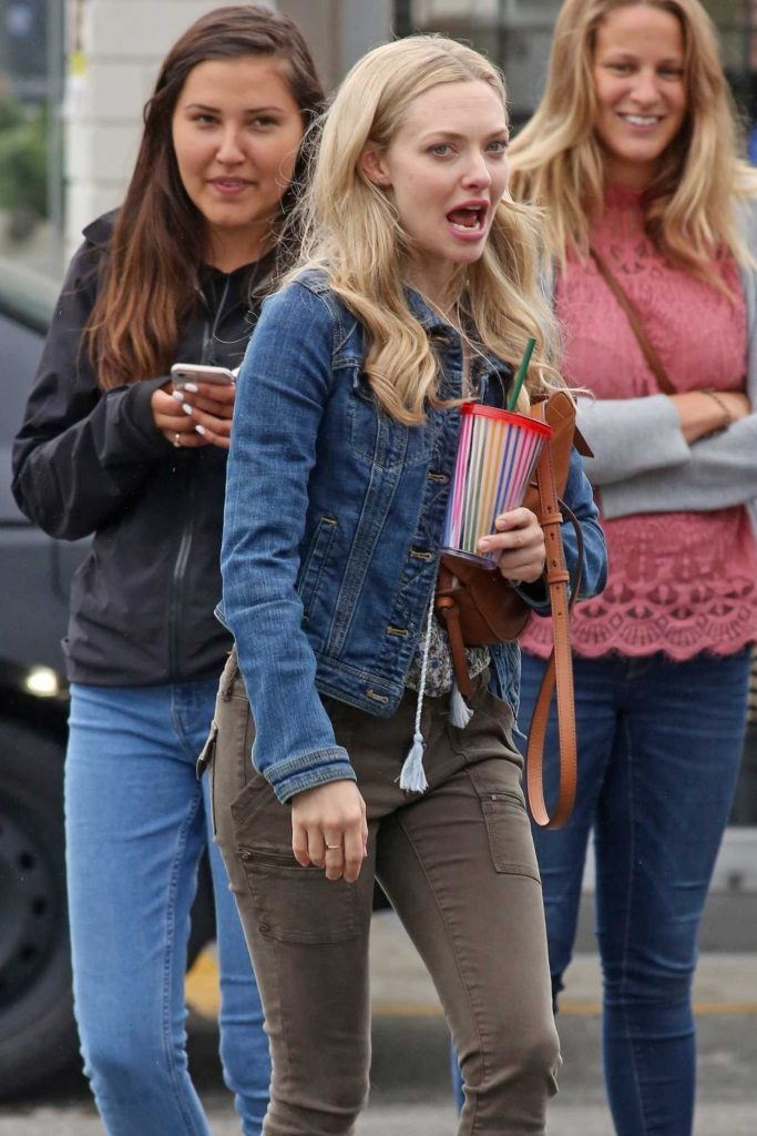 Amanda Seyfried on the Set of The Art of Racing in Port Coquitlam 06/30/2018-5