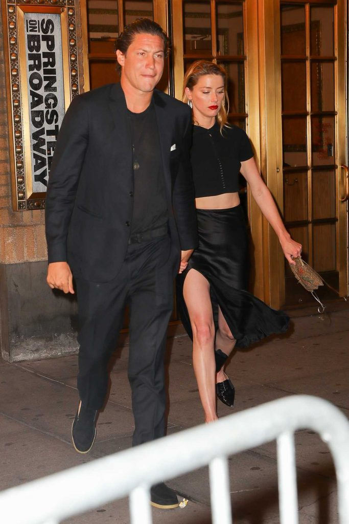 Amber Heard Was Seen Out with Vito Schnabel in New York City 06/29/2018-3