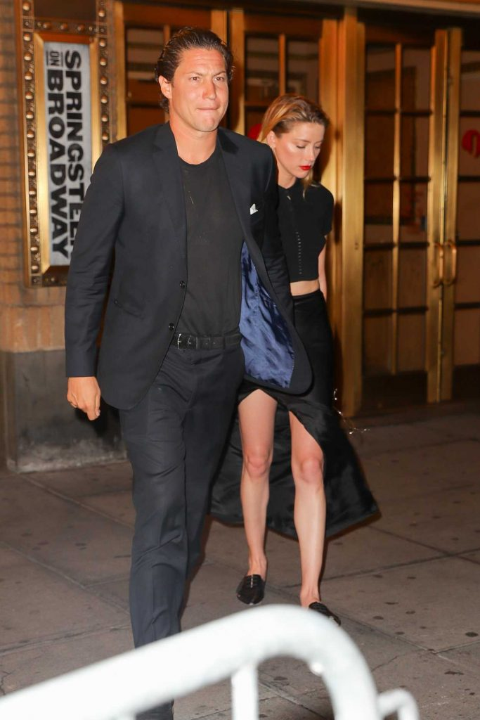 Amber Heard Was Seen Out with Vito Schnabel in New York City 06/29/2018-4
