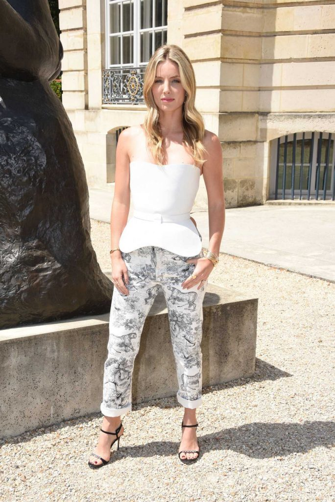 Annabelle Wallis Attends 2018 Christian Dior Couture Haute Couture Show in Paris 07/02/2018-3