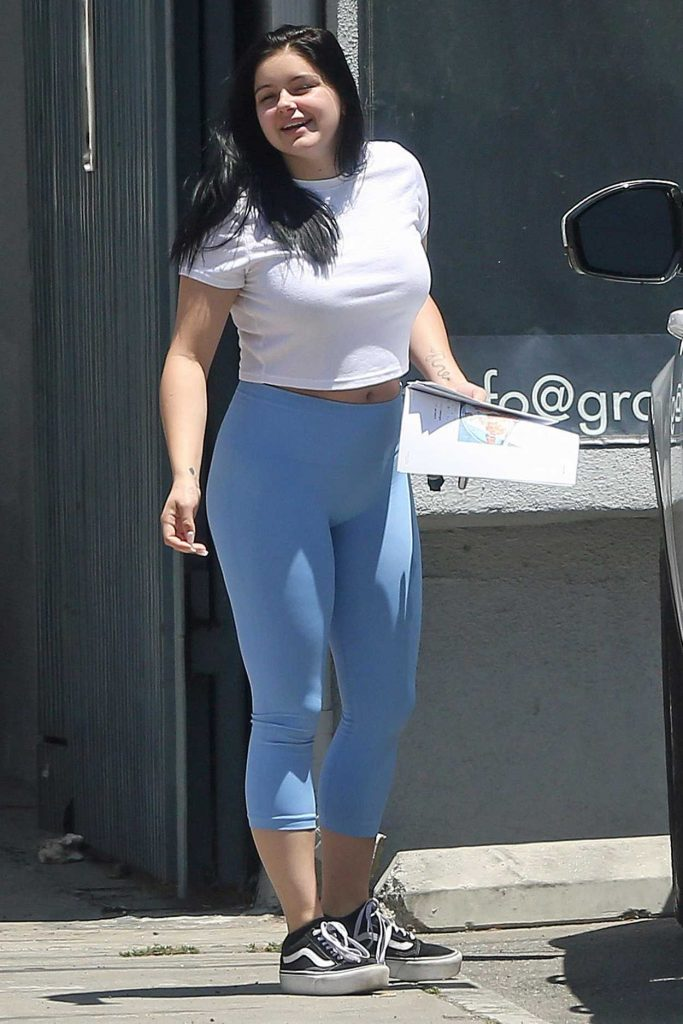 Ariel Winter Goes Grocery Shopping in Los Angeles 06/28/2018-3
