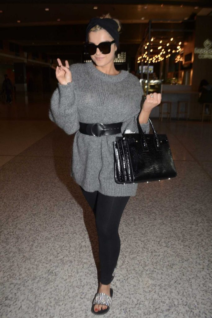 Bebe Rexha Touches Down in Sydney 07/11/2018-1