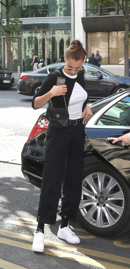 Bella Hadid Was Seen Out in Paris 07/08/2018-2