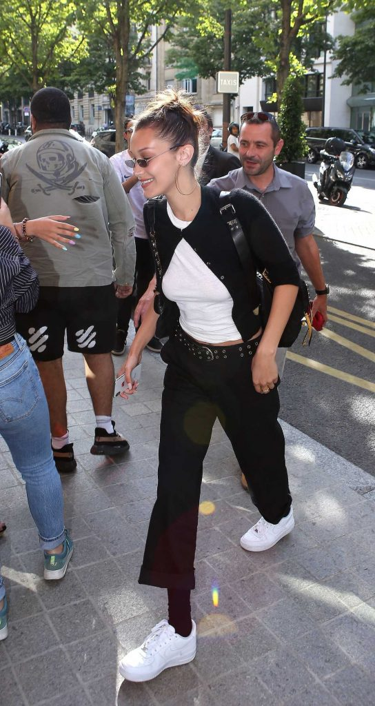 Bella Hadid Was Seen Out in Paris 07/08/2018-3