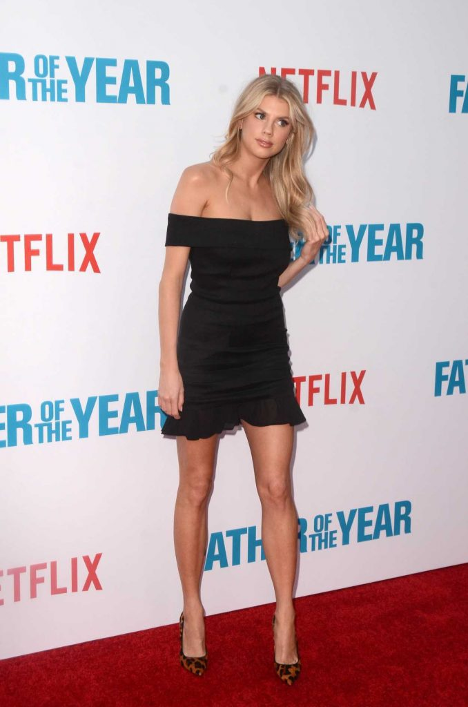 Charlotte McKinney Attends Netflix's Father of The Year Special Screening at ArcLight Hollywood in Hollywood 07/19/2018-3