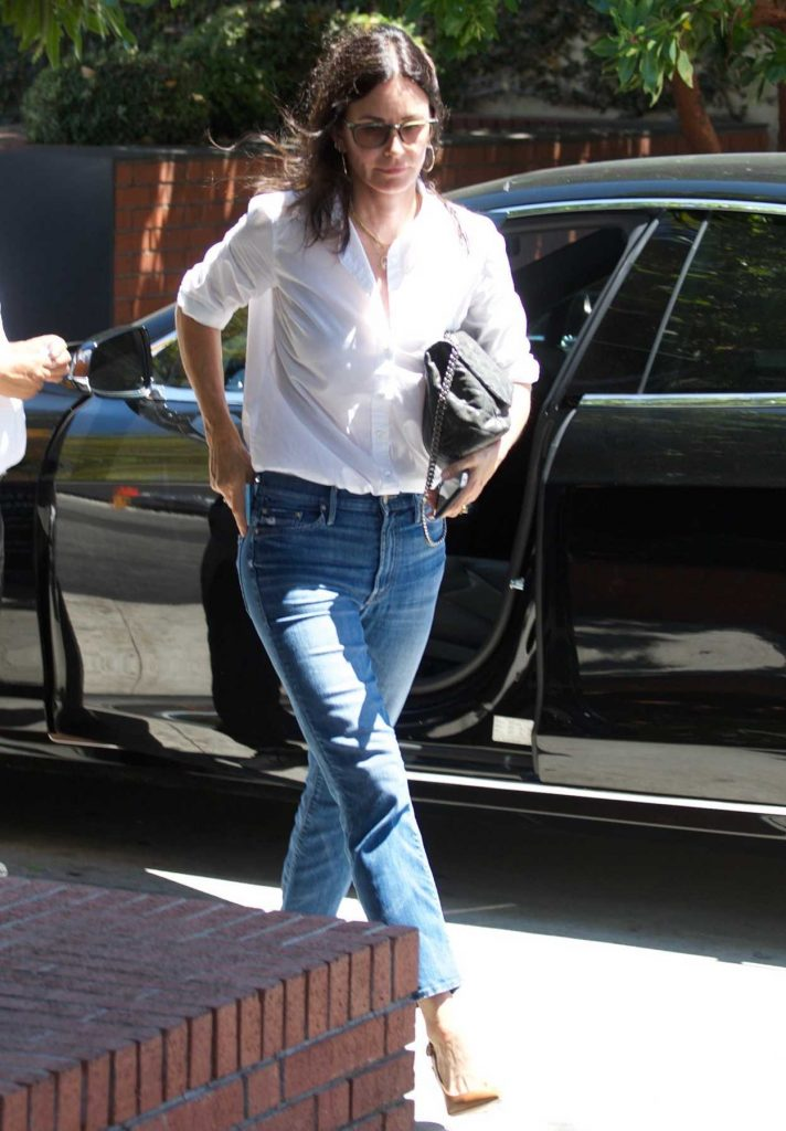 Courteney Cox Was Spotted Out in Los Angeles 07/10/2018-1