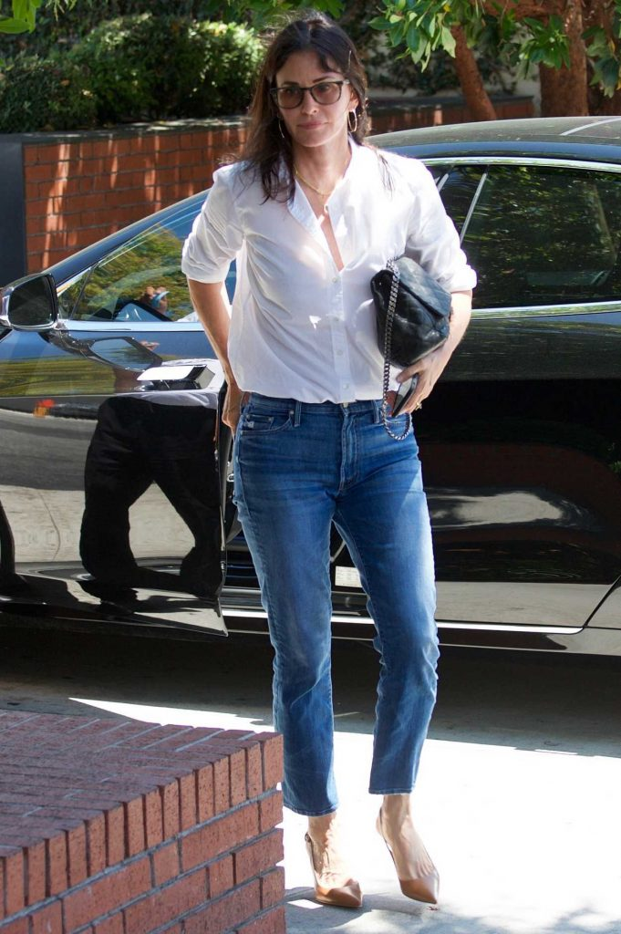 Courteney Cox Was Spotted Out in Los Angeles 07/10/2018-2