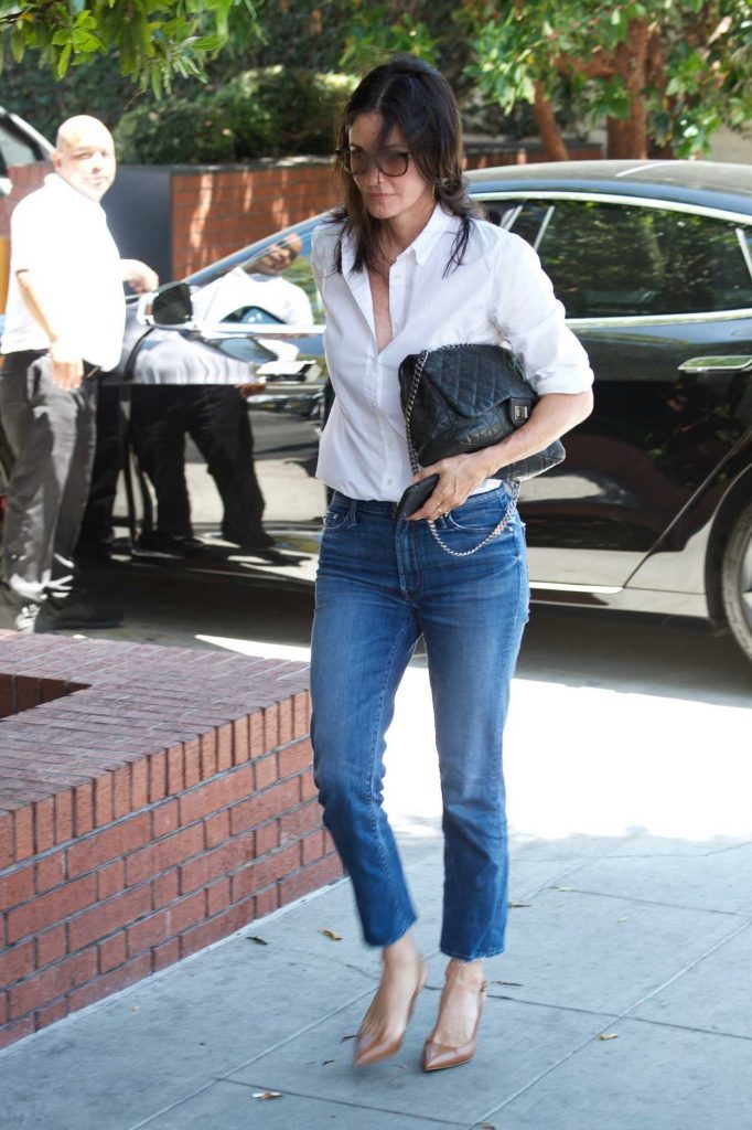 Courteney Cox Was Spotted Out in Los Angeles 07/10/2018-3