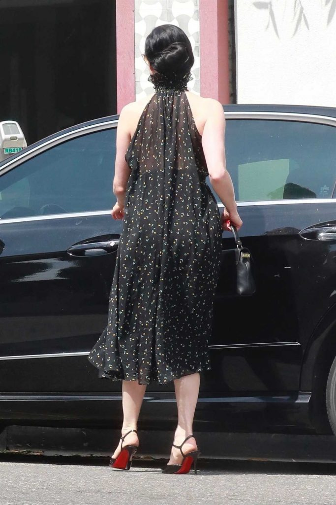 Dita Von Teese Was Spotted Out in West Hollywood 07/09/2018-6