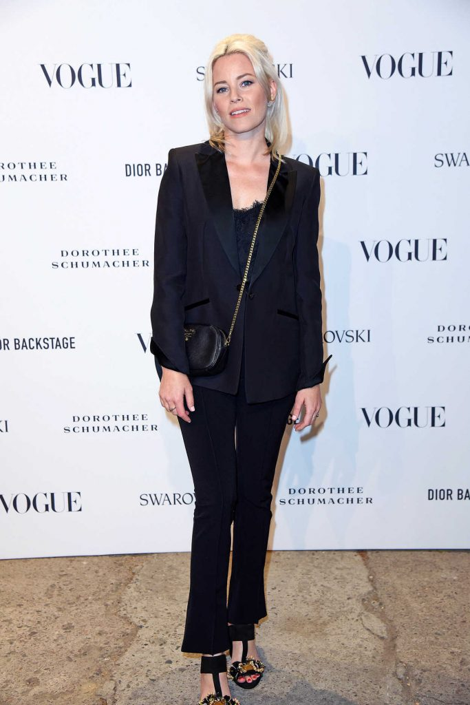 Elizabeth Banks Attends the VOGUE Fashion Party in Berlin 07/06/2018-1