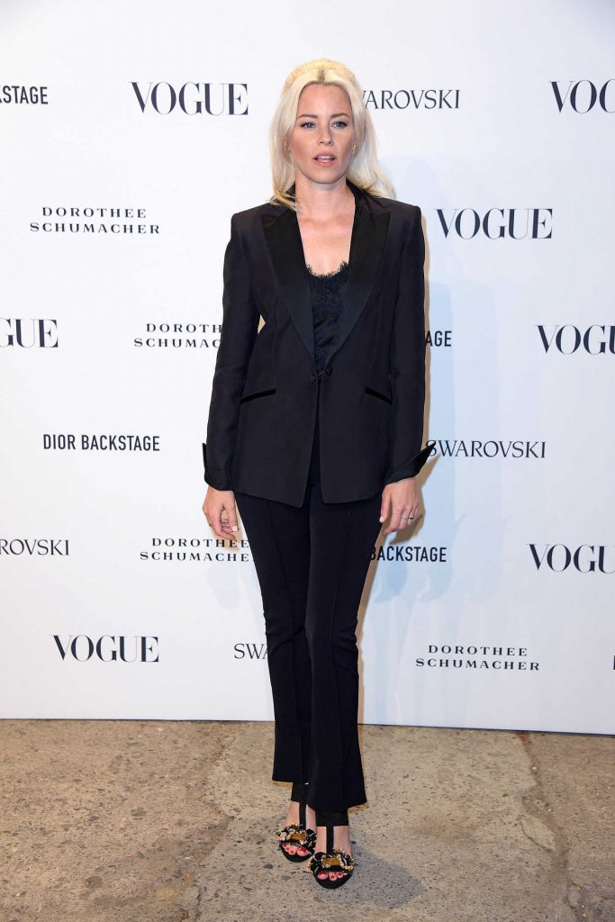Elizabeth Banks Attends the VOGUE Fashion Party in Berlin 07/06/2018-3