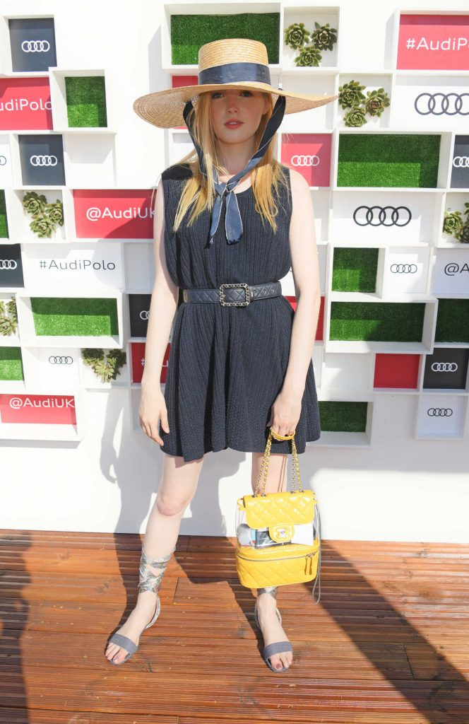 Ellie Bamber at Audi Polo Challenge at Coworth Park Polo Club in Ascot 06/30/2018-2