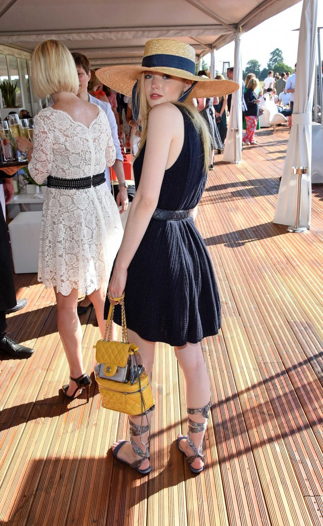 Ellie Bamber at Audi Polo Challenge at Coworth Park Polo Club in Ascot 06/30/2018-3
