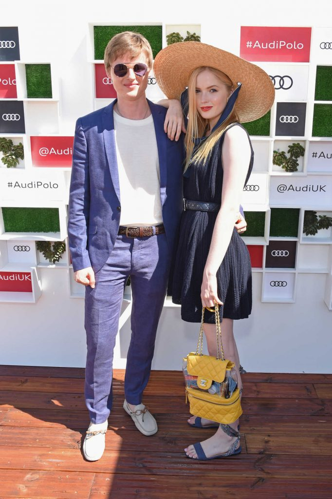 Ellie Bamber at Audi Polo Challenge at Coworth Park Polo Club in Ascot 06/30/2018-5