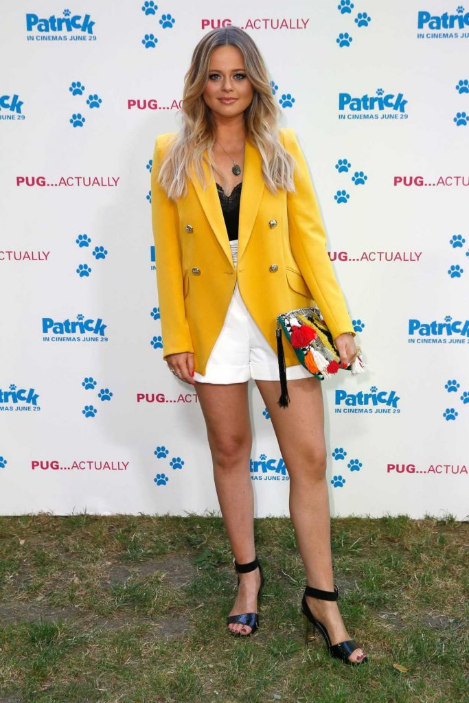 Emily Atack at Patrick Premiere in London 06/27/2018-2