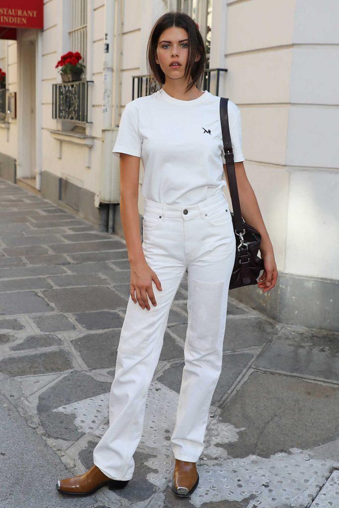 Georgia Fowler Was Seen Out in Paris 07/04/2018-2
