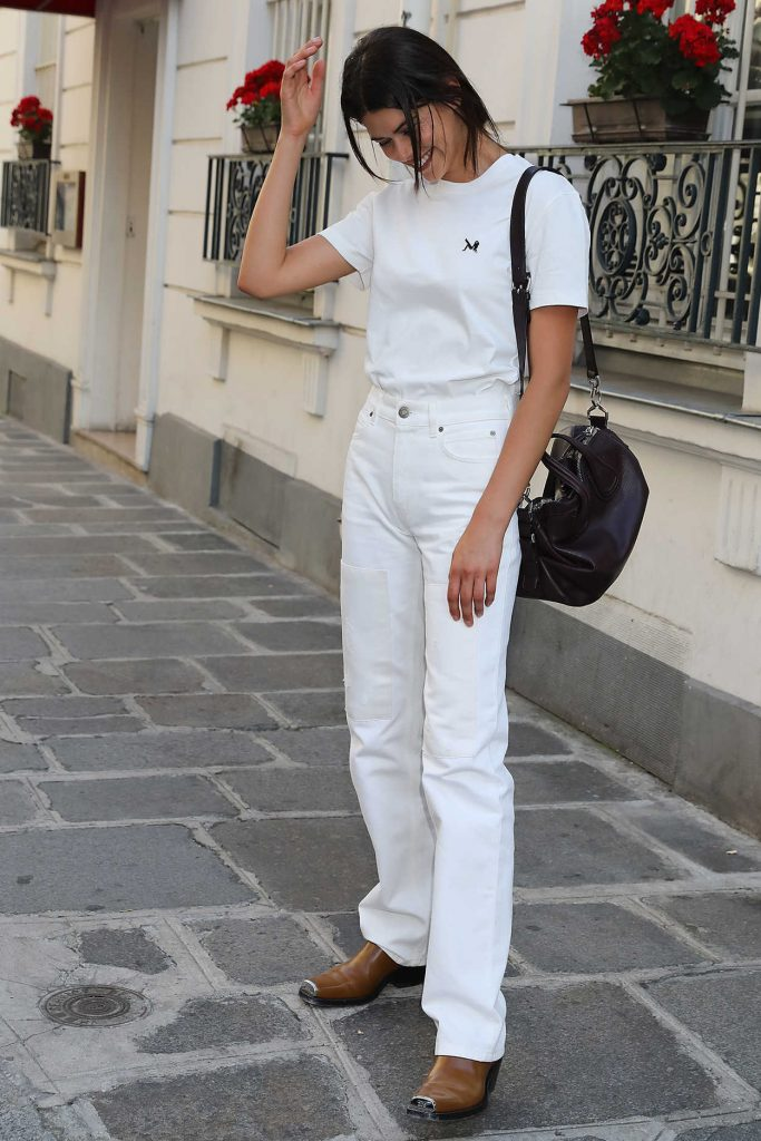 Georgia Fowler Was Seen Out in Paris 07/04/2018-3