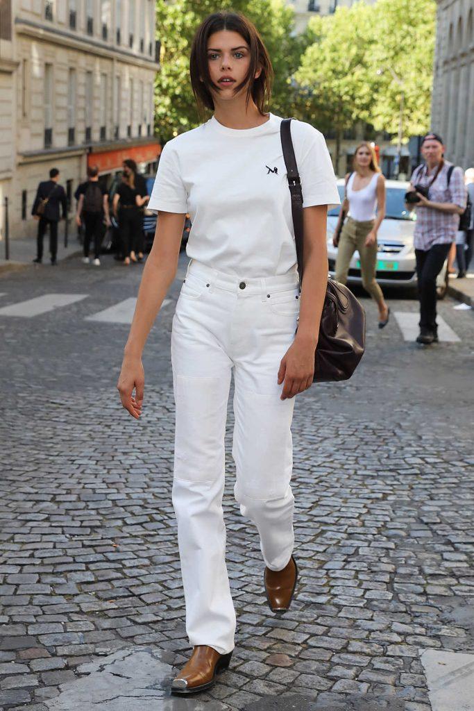 Georgia Fowler Was Seen Out in Paris 07/04/2018-4