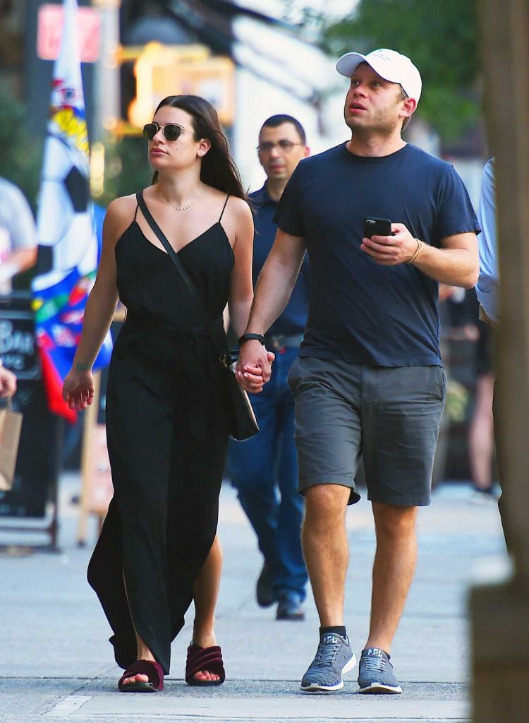 Lea Michele Was Spotted Out with Zandy Reich in SoHo, New York City 07/02/2018-1