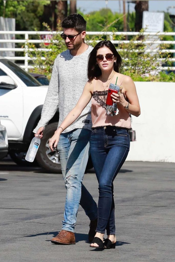 Lucy Hale Heads to Starbucks with a Friend in West Hollywood 07/02/2018-2
